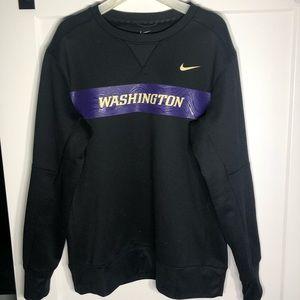 Nike university of Washington crewneck Size Large